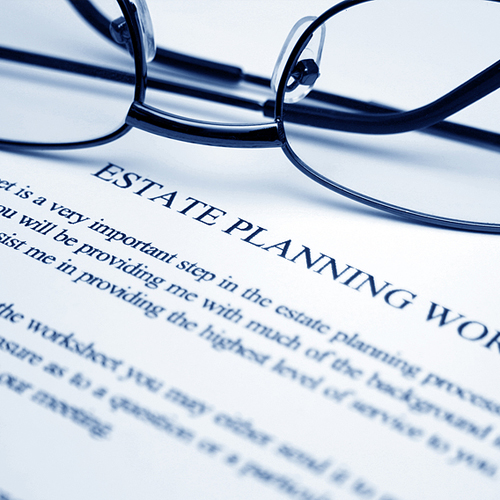 Estate Planning Tax Worksheet